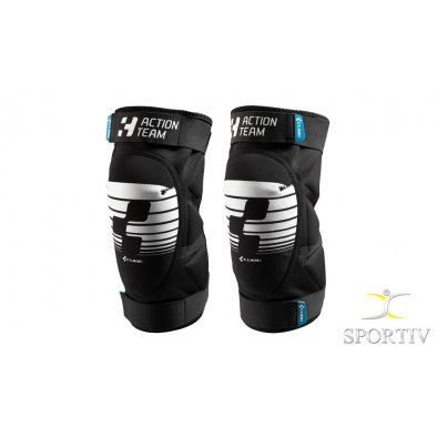 CUBE KNEEPAD ACTION TEAM CMPT black´n´white